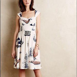 Anthropologie brand Bon Voyage dress